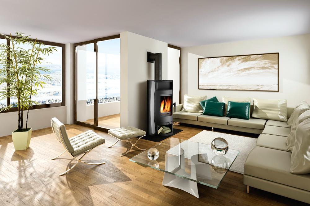 chaudi res et po les bois gammes de produits. Black Bedroom Furniture Sets. Home Design Ideas
