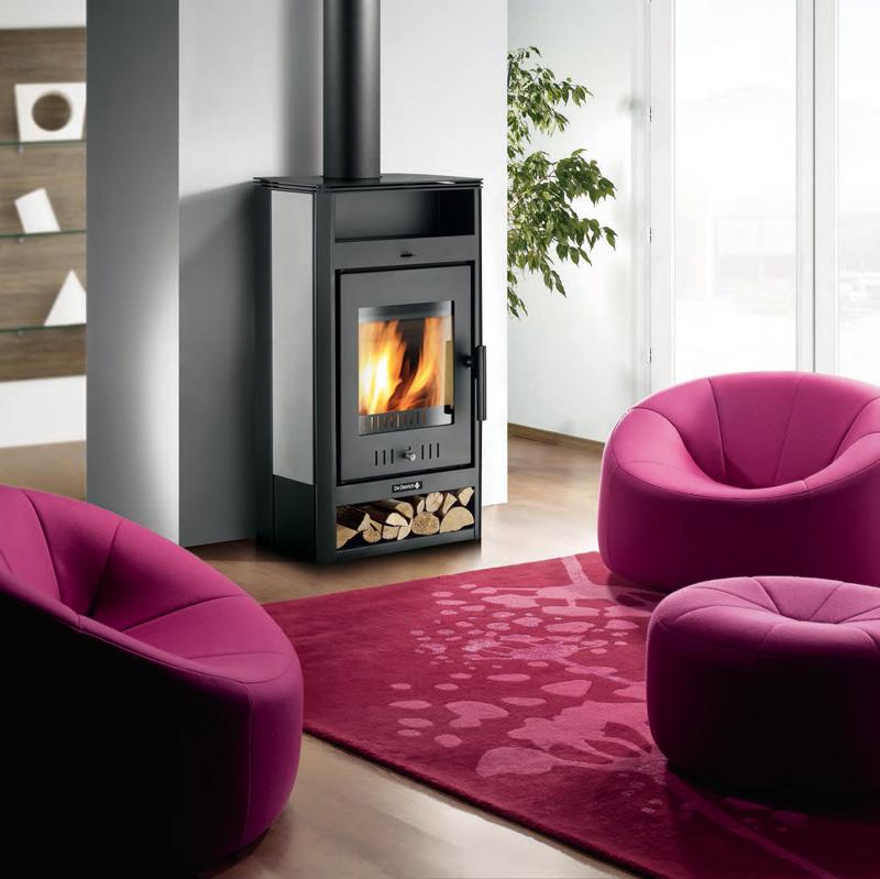 chaudi res et po les bois gammes de produits produits de dietrich thermique. Black Bedroom Furniture Sets. Home Design Ideas